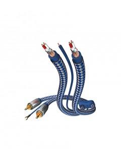Câble Inakustik Phono RCA 1.5m Premium