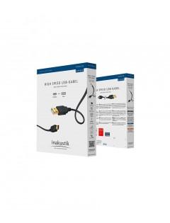 Câble Inakustik USB-A vers USB-B 1m PREMIUM