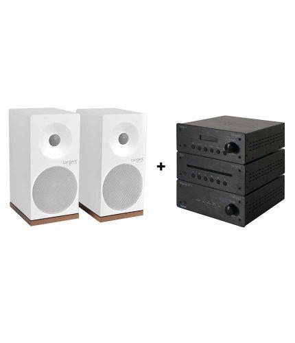 Tangent - Pack Ampster BT II - CD II - Tuner II - Spectrum X4