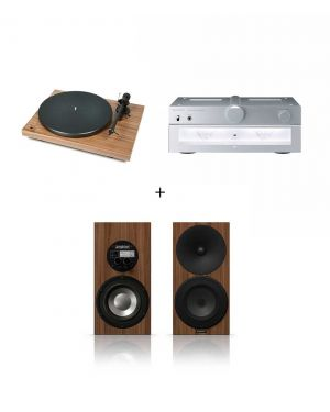 Pack Project Debut Carbon Noyer + Technics SU-C700 + Amphion Argon 3S Noyer