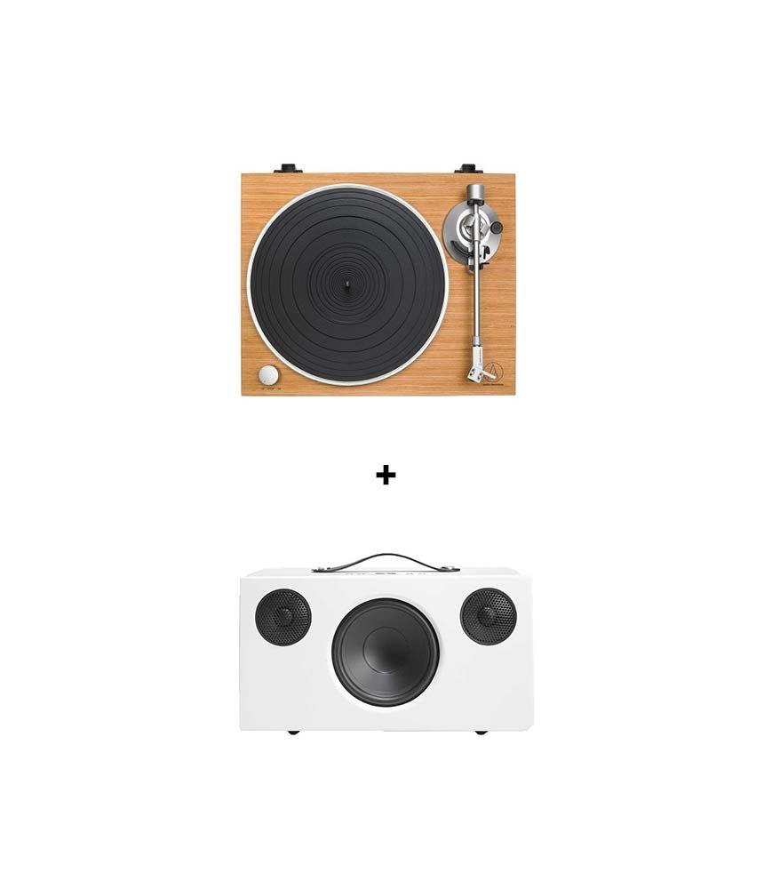 RetroFutur - AUDIO TECHNICA AT-LPW30TK + AUDIOPRO ADDON C10