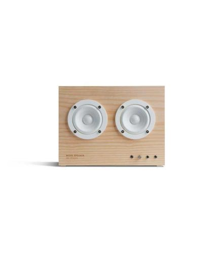 Transparent - Wood Speaker