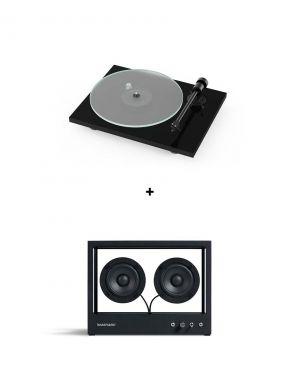 Pack Pro-Ject T1 BT + Small Transparent Speaker