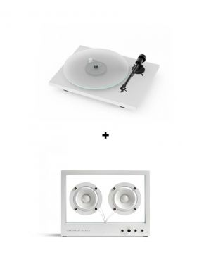 Pack Pro-Ject T1 BT + Small Transparent Speaker