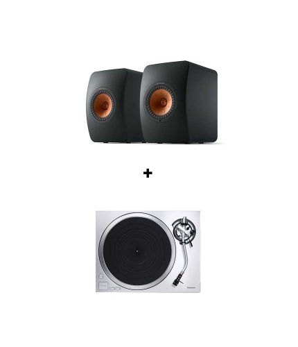 RetroFutur - Pack KEF LS50 Wireless II + Technics SL1500C