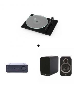Pack Pro-Ject T1 + Rega IO AMP + Q-Acoustics 3020i