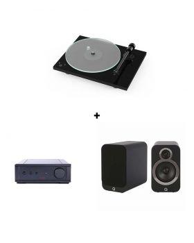 Pro-Ject T1 + Rega IO + Q-Acoustics 3020i