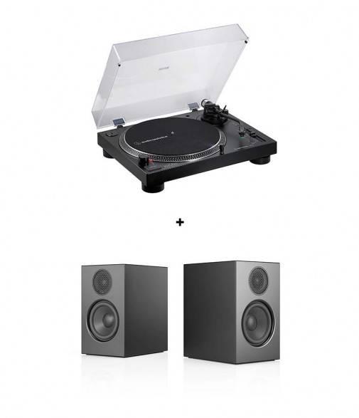 Pack Audio Pro A26 + Audio Technica AT-LP120XUSB
