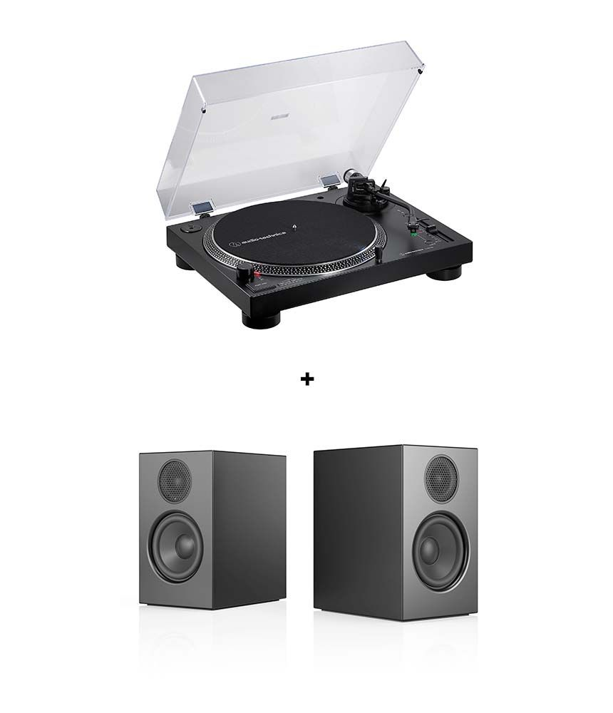 RetroFutur - Pack Audio Pro A26 + Audio Technica AT-LP120XUSB