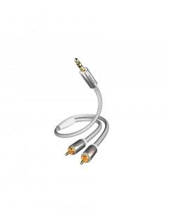inakustik - Câble PREMIUM Jack-RCA 1,5m