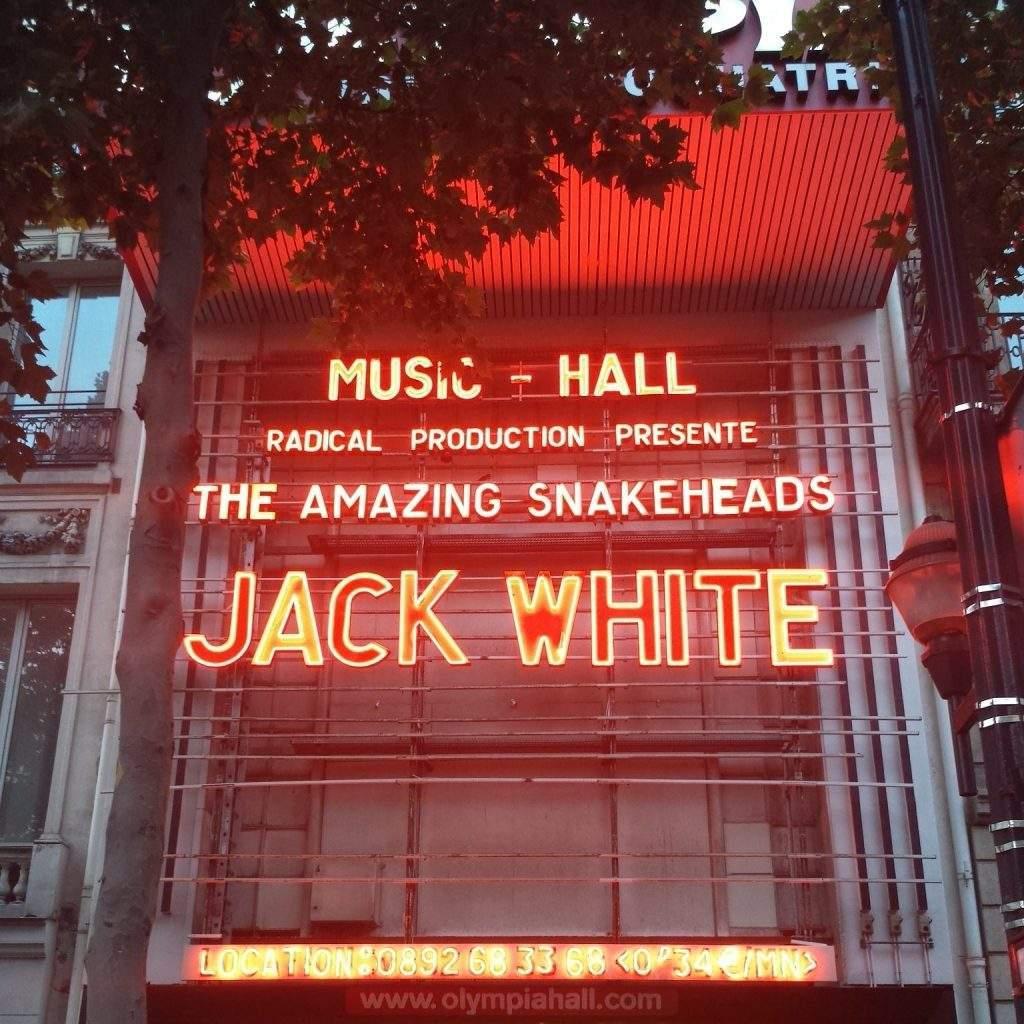 RetroFutur au concert de Jack White