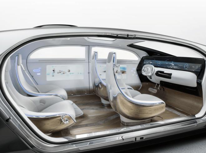 Mercedes Benz - Concept Car CES 2015