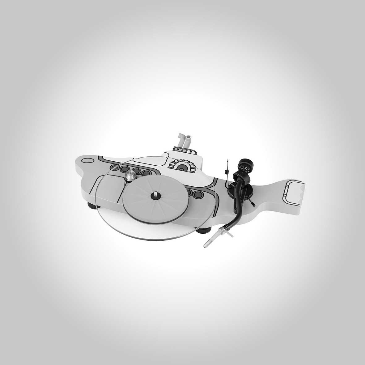 Platine vinyle The Beatles Yellow Submarine